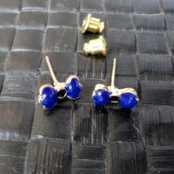 Brincos Laço Azul