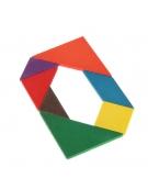 Quadro Puzzle Geométrico