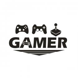 Vinil Autocolante - Gamer