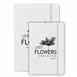 Bloco de Notas - I Paint Flowers