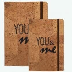 Bloco de Notas Cortiça - You & Me