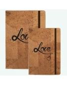 Bloco de Notas Cortiça - Love