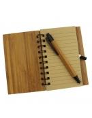 Bloco de Notas Bambu - Árvore