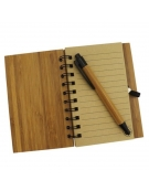 Bloco de Notas Bambu - Sardinhas