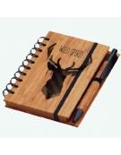 Bloco de Notas Bambu - Wild Spirit