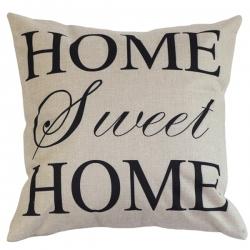 Capa de Almofada Home Sweet Home