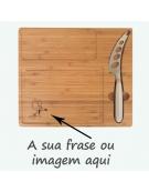 Tábua de Cozinha Madeira - Rectangular Impressão