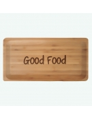 Tábua de Cozinha Bambu - Rectangular Frase