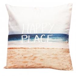Capa de Almofada Happy Place
