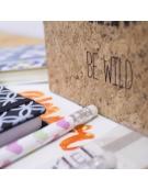 Lápis com Marcador de Livro - Design 2