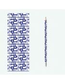 Lápis com Marcador de Livro - Design 3