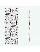 Lápis com Marcador de Livro - Design 4