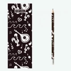 Lápis com Marcador de Livro - Design 10