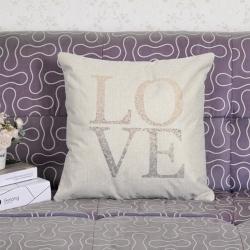 Capa de Almofada Love