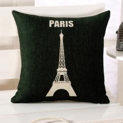 Capa de Almofada Eiffel Paris