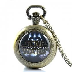 Relógio Bolso Star Wars
