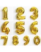 Balões Metalizados Letras e Números