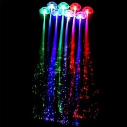 Aplique para Cabelo com LEDs