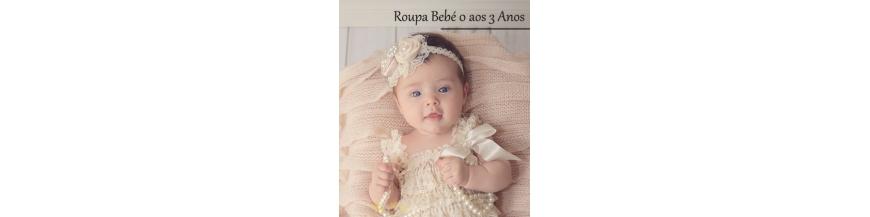 Bebé Menina (0 - 3 Anos)